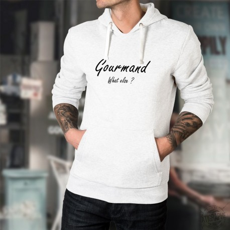 Hooded Funny Sweat - Gourmand, What else ?