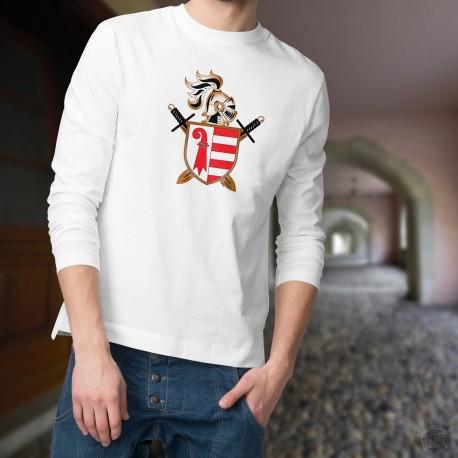 Pull-over mode homme - Heaume et épées jurassien