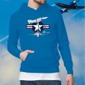 Maglione di cotone con cappuccio - F-4E Phantom II