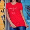Baumwolle T-Shirt - Maman et fille Super Pouvoir