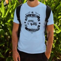 Humoristisch T-Shirt - Renault 4L, le mythe, la Légende - für Herren