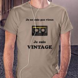 Humoristisch T-Shirt - Vintage Audiokassette - für Herren