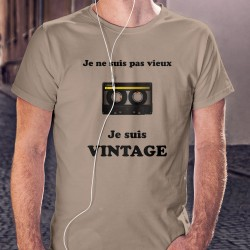 T-Shirt - Vintage Cassette audio ⏪⏸⏵⏹⏩