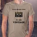 T-Shirt - Vintage audio cassetta