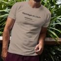 Funny T-Shirt - Glandage en cours