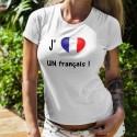 T-Shirt mode - J'aime UN français