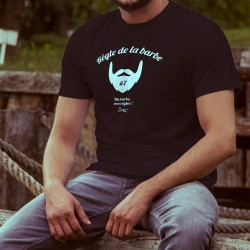 Uomo cotone T-Shirt - Règle de la barbe N°7