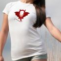 T-Shirt dame - Diaboliquement féminine