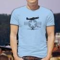 Men's Fighter Aircraft T-shirt - P-51 Mustang