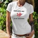 Women's T-Shirt - Embrasse-moi je suis Jurassienne