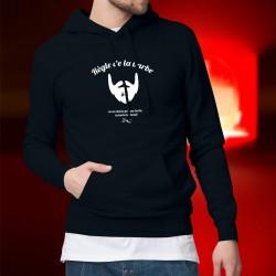 Cotton Hoodie T-Shirt - Règle de la barbe N°6