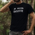 T-Shirt coton - Je suis RACLETTE