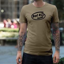T-Shirt humoristique homme - Bad Boy Inside (Mauvais garçon à l'intérieur) pour les Bad Boys