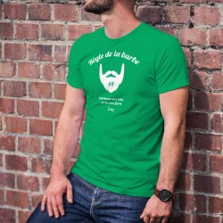 Men's cotton T-Shirt - Règle de la barbe N°8