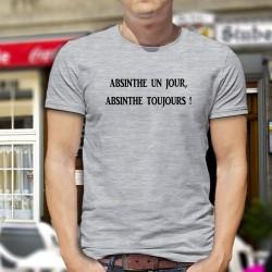 Uomo T-Shirt - Absinthe un jour...