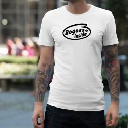 Uomo Funny T-Shirt - Bogosse Inside
