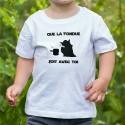 T-shirt enfant - Que la Fondue soit avec Toi