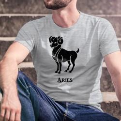 T-shirt Segno zodiacale - Ariete (Aries in latino) - Uomini nate tra il 21 marzo e il 20 aprile