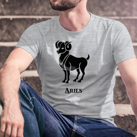 Zodiac Sign T-Shirt - Aries (Latin Aries) - Men's between March 21st and April 20th