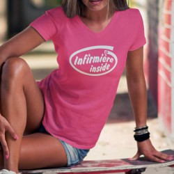 Cotone T-Shirt - Infirmière Inside