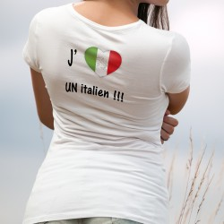 T-shirt - J'aime un Italien