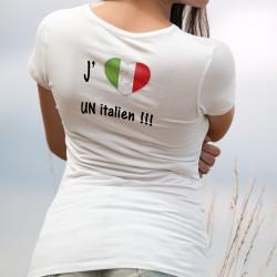 Women's T-Shirt - J'aime un Italien