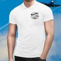 Men's Polo Shirt - F-14 Tomcat (Top Gun)