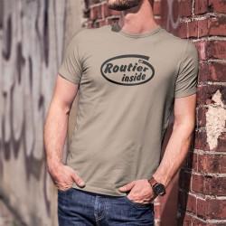 Uomo Funny T-Shirt - Routier Inside