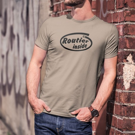 Men's Funny T-Shirt - Routier Inside