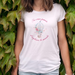 Women's T-Shirt - explorer le monde