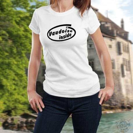 Women's slim T-Shirt - Vaudoise Inside