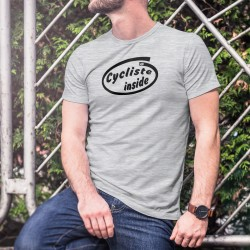 Men's Funny T-Shirt - Cycliste Inside