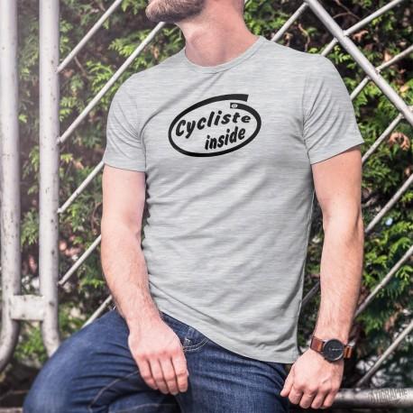 Uomo Funny T-Shirt - Cycliste Inside