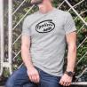 T-Shirt humoristique homme - Cycliste Inside (Cycliste à l'intérieur du T-shirt)