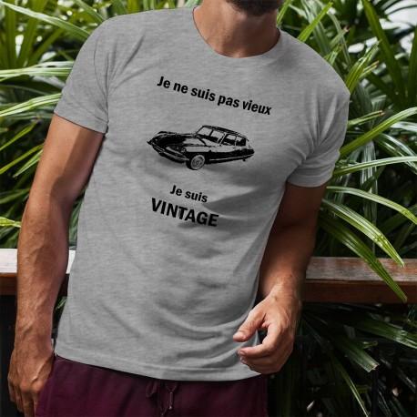 Uomo T-Shirt - Vintage Citroën DS