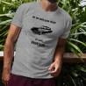 """T-Shirt humoristique homme - Vintage Citroën DS et la citation """"Je ne suis pas vieux, je suis vintage"""""""
