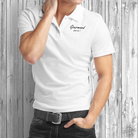 Polo Shirt - Gourmand, What else ?