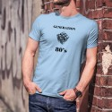 Funny T-Shirt - Generation eighties