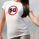 T-Shirt dame - Interdiction de la 5G