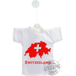 Mini T-Shirt - Switzerland - Auto Deko