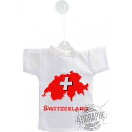 Mini T-Shirt - Switzerland - Auto Deko