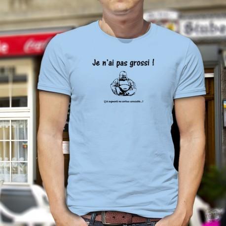 Je n'ai pas grossi. j'ai augmenté ma surface caressable ★ Bouddha ★ T-Shirt humoristique mode homme