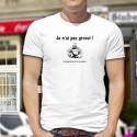 Je n'ai pas grossi ★ Bouddha ★ T-Shirt homme