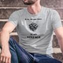 Funny T-Shirt - Vintage Rubik's cube