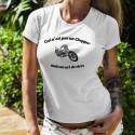 Damenmode T-shirt - Ceci n'est pas un Chopper