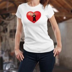 Donna T-shirt stretto - Cuore Glaronese