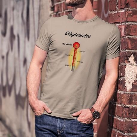 Humoristisch T-Shirt - Ethylomètre jurassien