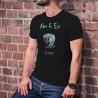 Le Serpent (gardien de l'arbre de la connaissance du bien et du mal) ★ Adam & Eve® ★ T-Shirt coton homme