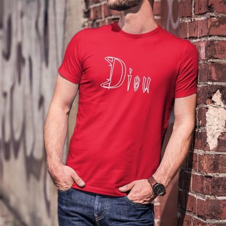 Dieu ★ Adam & Eve® ★ T-shirt coton homme. Porter Son nom sur soi, l'expression de cette divinité qui est en chacun de nous