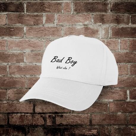Casquette de baseball - Bad Boy, What else ? (mauvais garçon, quoi d'autre ?)